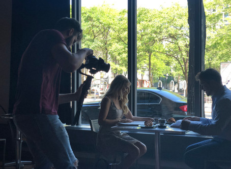 Filming INCANTO'S second video clip!