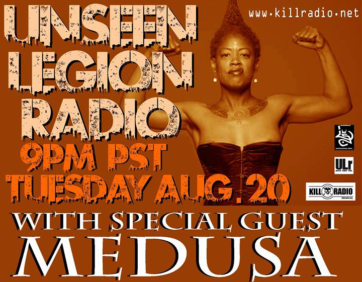 The Legendary Medusa Cali Frame Gangsta Goddess will be in the house with the Inasoulbianz Crew this