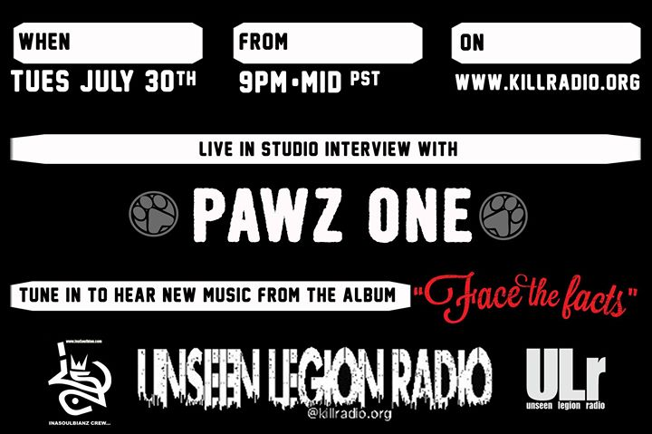 Next week be sure to tune in live with PAWZ ONE in the house