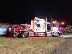 Presision driving, trucks neon