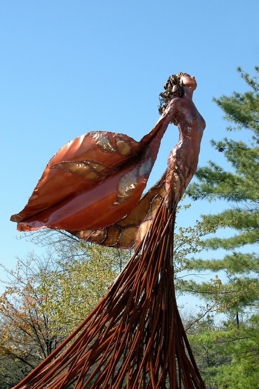 Eos statue by Dessa Kirk