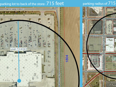 Downtown parking: a problem of perception?