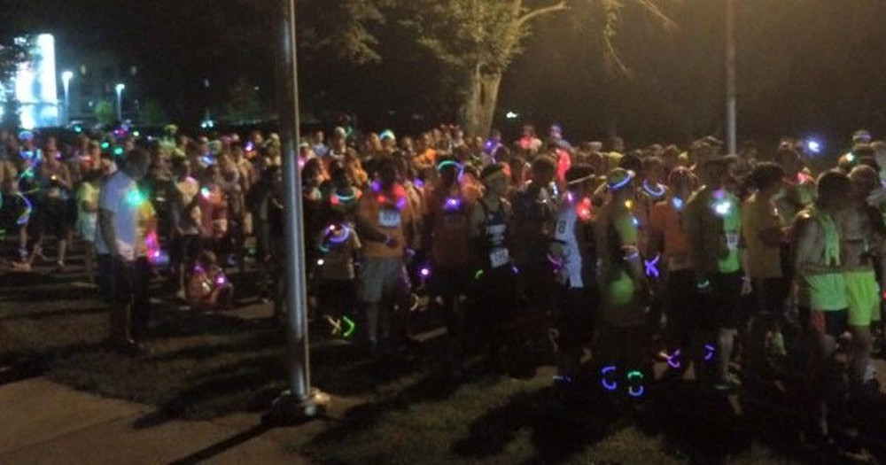 Photo from: Foundation for Youth's Glow in the Park 5k
