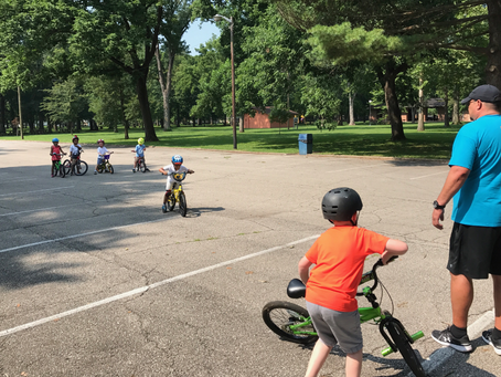 Bike Camp teaches safe riding for kids