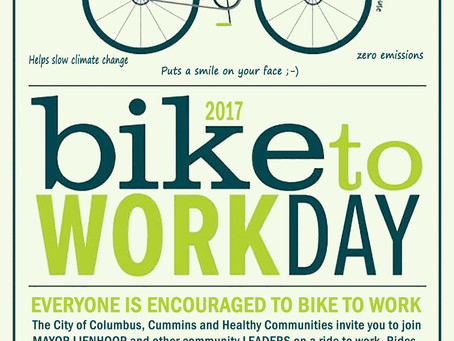 Bike to Work Day is May 19th!