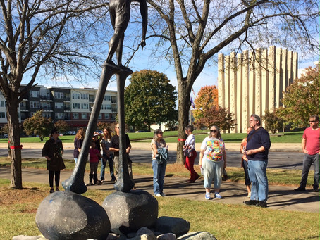 Public Art Walk provides up close & personal perspective on local art