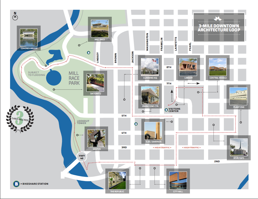 3-Mile Downtown Architecture Loop