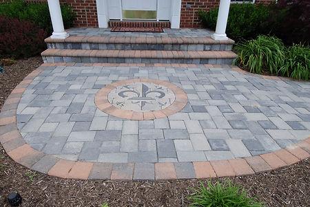 brick paving patio st. charles st. peters missouri