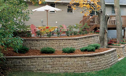 retaining wall st. charls st. peters missouri