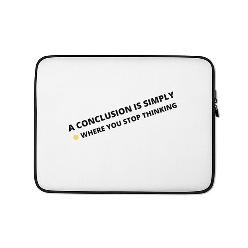 Laptop Sleeve- conclusion-white