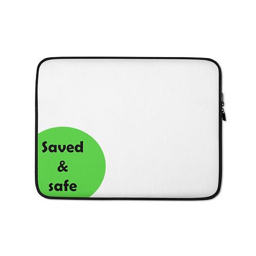 Laptop Sleeve - safe - white