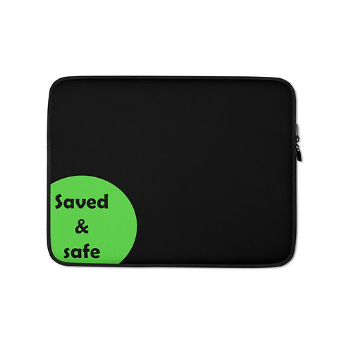 Laptop Sleeve -safe - black
