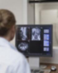 Arzt Betriebs Computertomograph