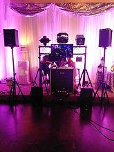 Mobile DJ system setup