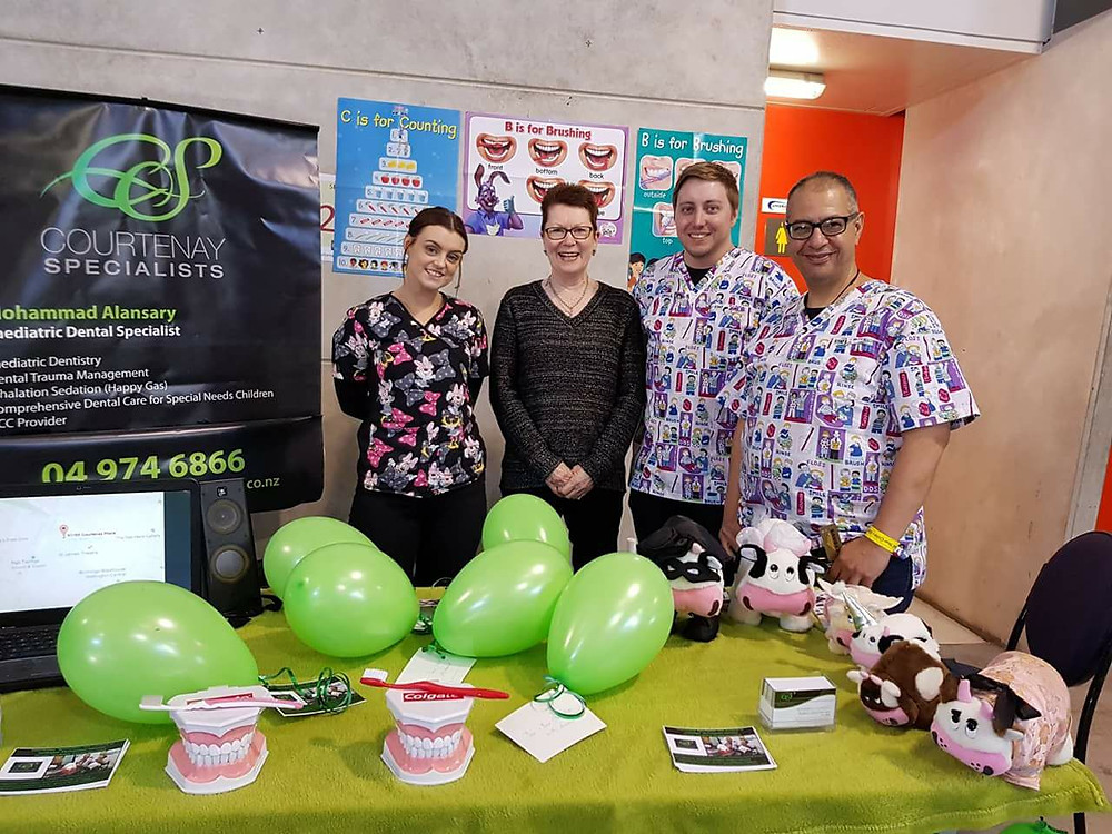 Children's Dentistry team at the Expo