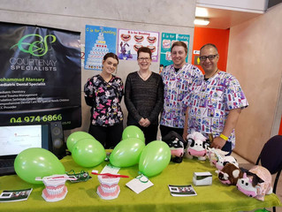 Our team at the You and Your Child show at Westpac Stadium