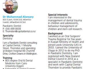 Dental General Anaesthesia @ Bowen Hospital for Children