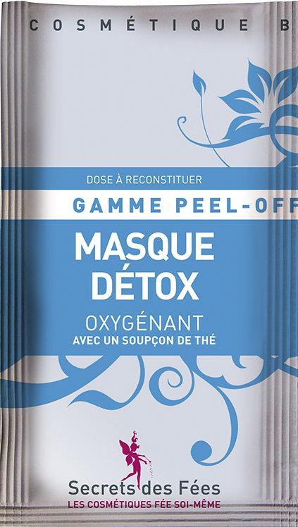Echantillons Masque Peel Off Detox Oxygénant - lot de 10