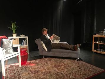 "Gustav in ""Creditors"" (Etcetera Theatre)"