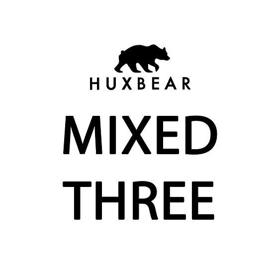 Huxbear Mixed Three (3 bottles)