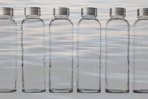 Coming Soon! Personalized Glass Bottled Water - 10 pack
