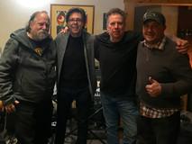 Producer Vic Steffens, Kasim Sulton, Mickey Currey