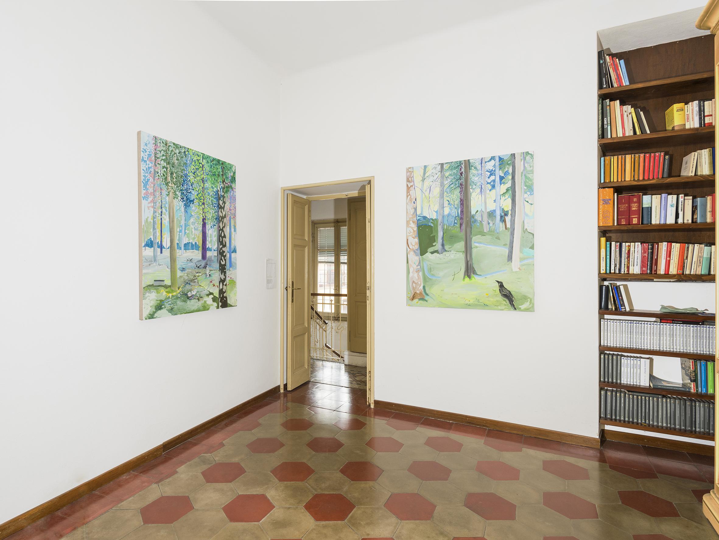 Vera Portatadino The Sun is the Same, exhibition view, photo by Cosimo Filippini
