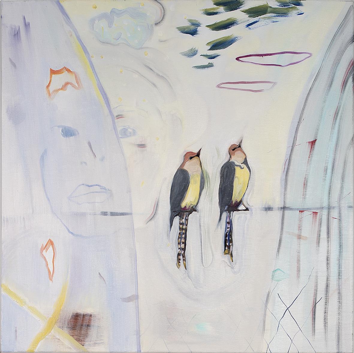 Vera Portatadino, Hypnosis, 2015, olio su tela, 60 x 60 cm