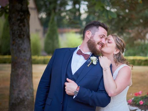 Mariage d'AXELLE et de MATHIEU à la bergerie de VAUJOLAY.