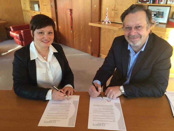 Elior signe la charte Cancer@Work