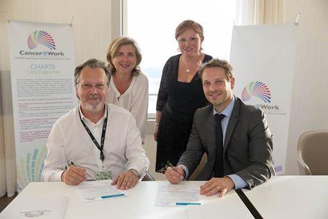 Gustave Roussy, premier hôpital à s'engager avec Cancer@Work !