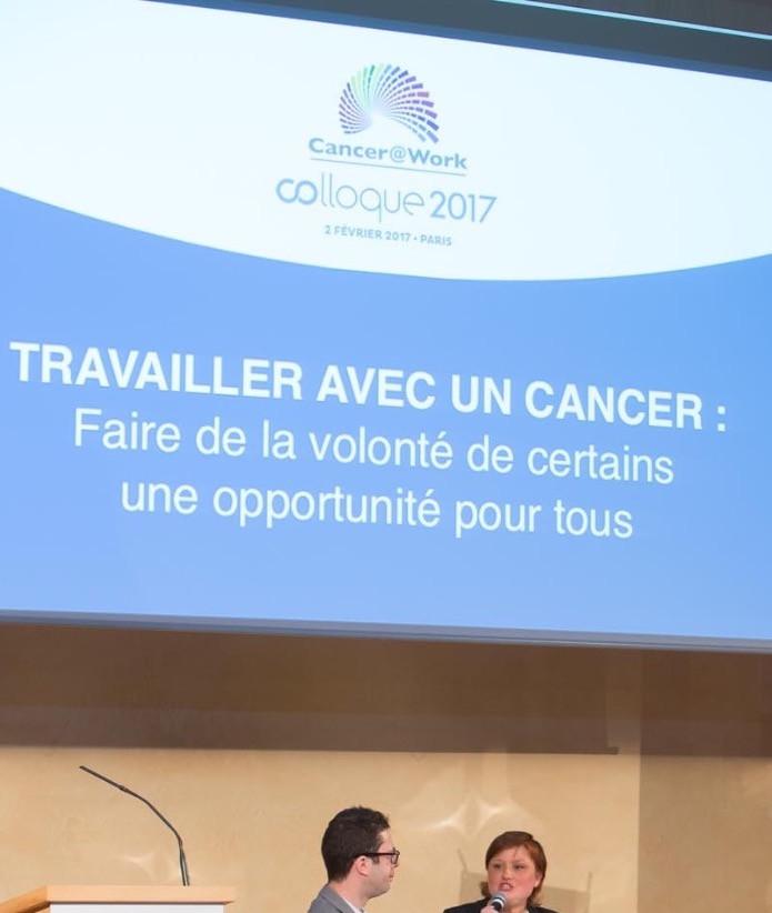Colloque Cancer@Work 2017