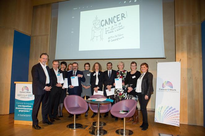 6 nouveaux signataires de la charte Cancer@Work