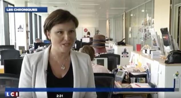 Anne-Sophie Tuszynski est l'invitée de Sylvia Amicone sur LCI