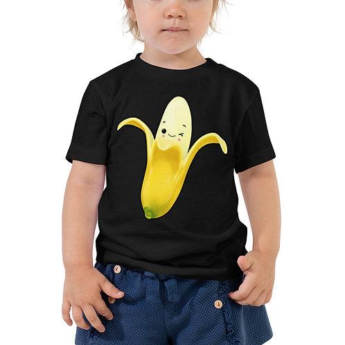 Toddler Short Sleeve Tee - Banana