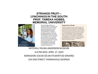 Strange Fruit: history of lynching. Once Africans gained their freedom and began their journey to be