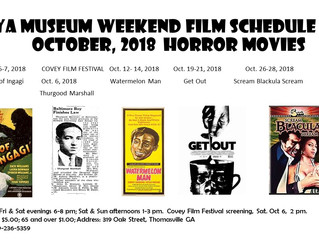 October the month for Horror. Come and be afraid.