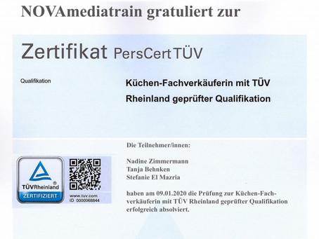 Herzlichen Glückwunsch zu bestanden TÜV-Prüfung!