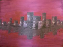 """""""Skyline am Wasser"""""""