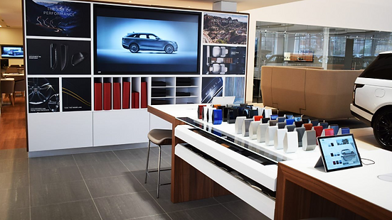 Jaguar Land Rover Dealership Digital Exprience