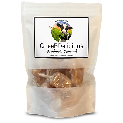 GheeBDelicious Caramels - Full Spectrum