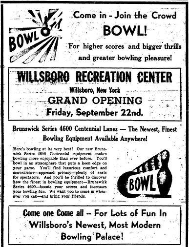 WBC Grand Opening 1950 Essex County Repu