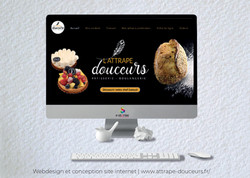 Idées Folles - Site web l'Attrape Douceurs