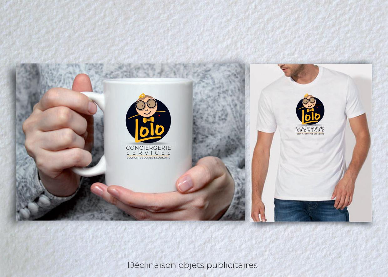 Idées Folles - Goodies Lolo Conciergerie