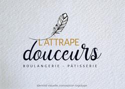 Idées Folles - Logotype l'Attrape Douceurs