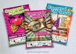 Idées Folles - Affiches Carnaval