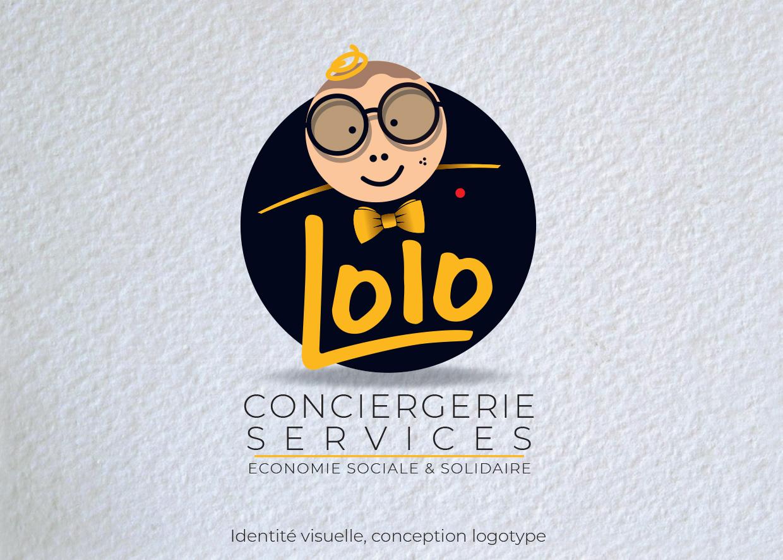 Idées Folles - Logotype Lolo Conciergerie