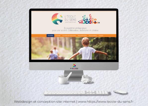 Idées Folles - Site web L'école du sens