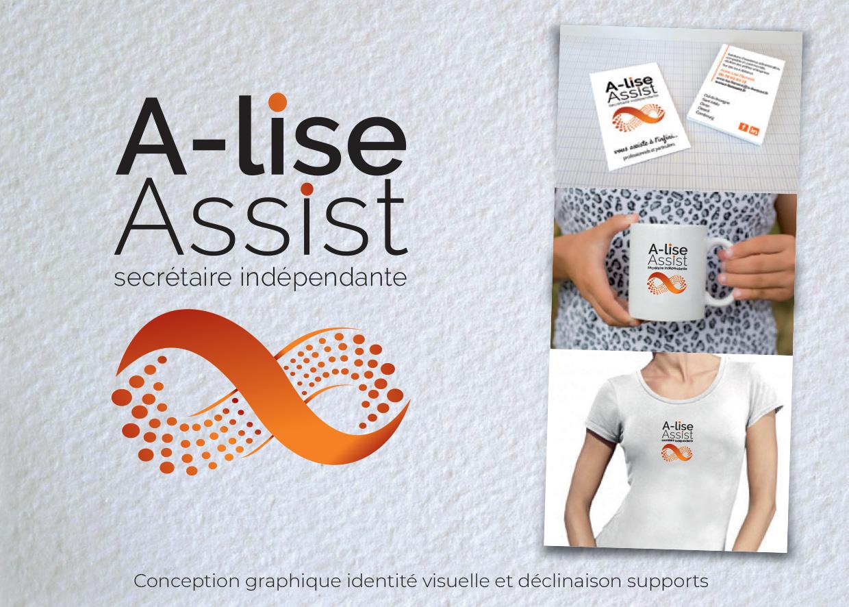 Idées Folles - Logotype A-Lise Assist