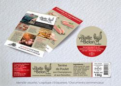 Idées Folles - Flyer et étiquette